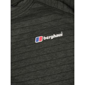 Berghaus Thermal Tech Sweat Couche De Base À Col Ras-Du-Cou À Manches Longues Homme, black/carbon
